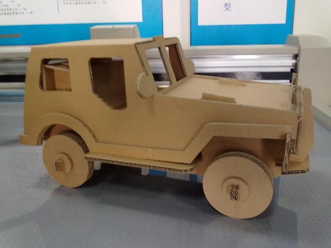 Мастер-класс как сделать машину из картона, машины для кукол 96