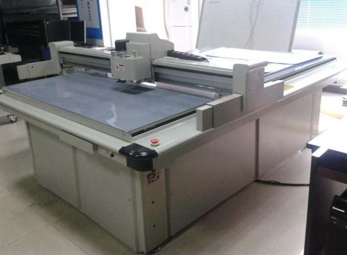 high speed v cut table of packaging