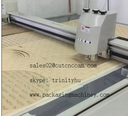 gasket cutting tool head sample making machine