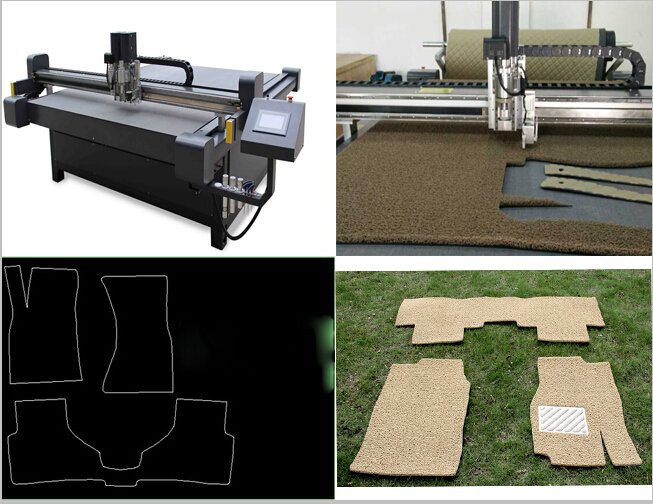 Car mat making cnc cutting table