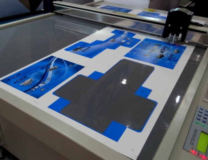 Print Color Box Cnc Cutting Plotter Small Production