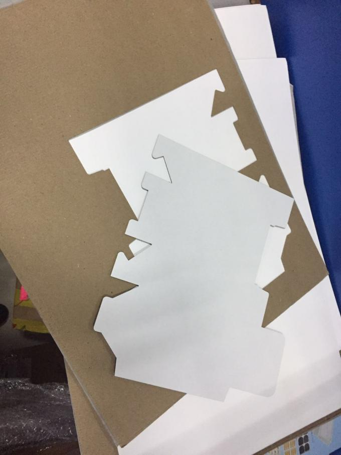 card paper box sample making cnc cutter