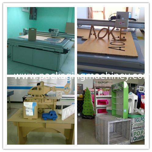 Fruit Carton Box Sample Maker Flatbed Cutter Mock Up Machine