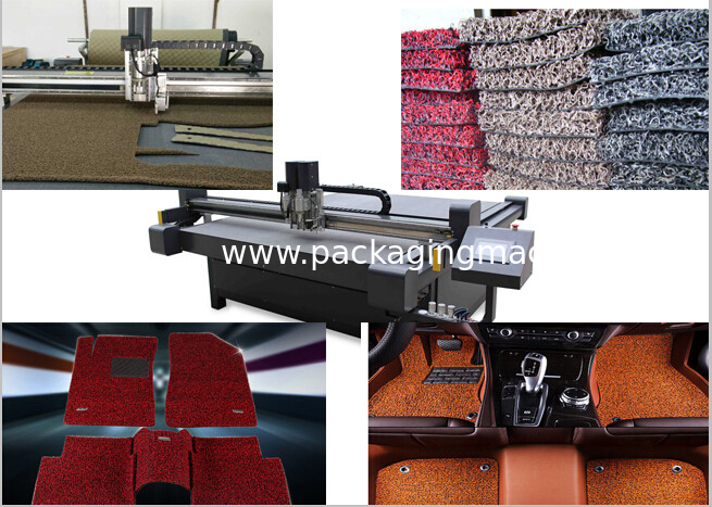 Placit pvc coil auto floor mat cnc cutting table production machine