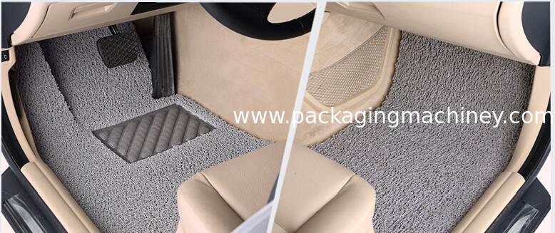 PVC coil car mat production cnc cutting table equipment