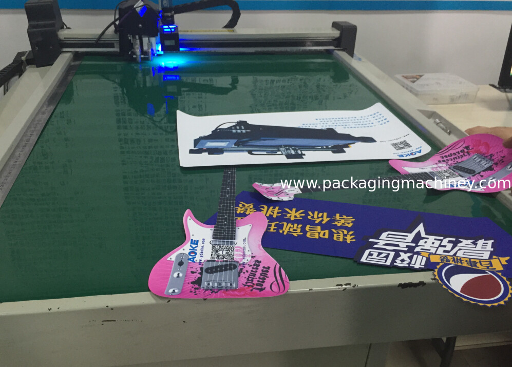Printing sticker cutting plotter small production making cutting table
