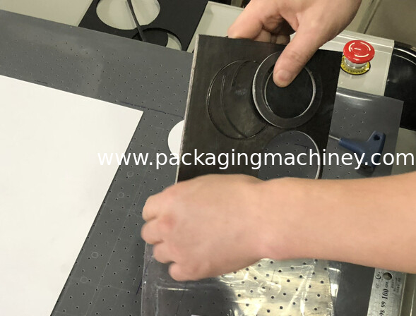 PTFE  graphite rubber gasket production making cnc cutter table