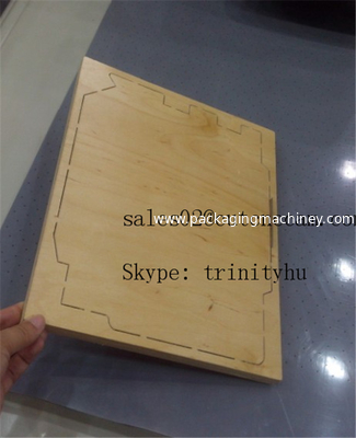 China steel rule die wood board cutting distributor