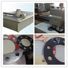 Synthetic Fiber Nitrile Bound Gasket cut equipment